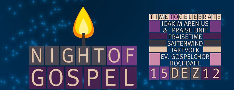 Plakat Night of Gospel