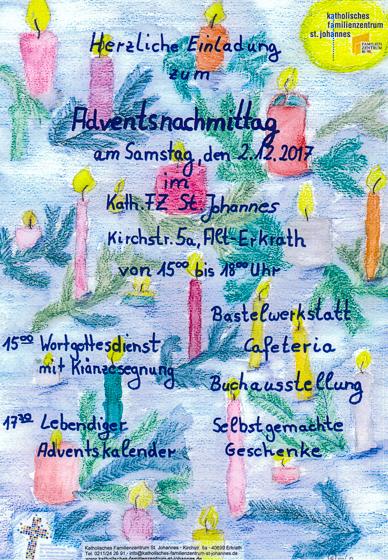 Poster Adventsnachmittag 17-
