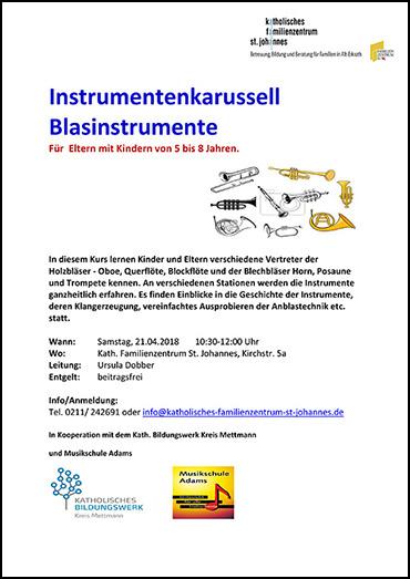 Instrumenten-Karussell-Blaeser
