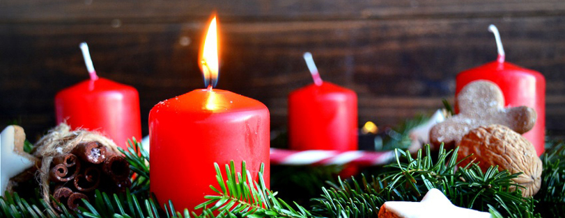 Adventskranz - erster Advent